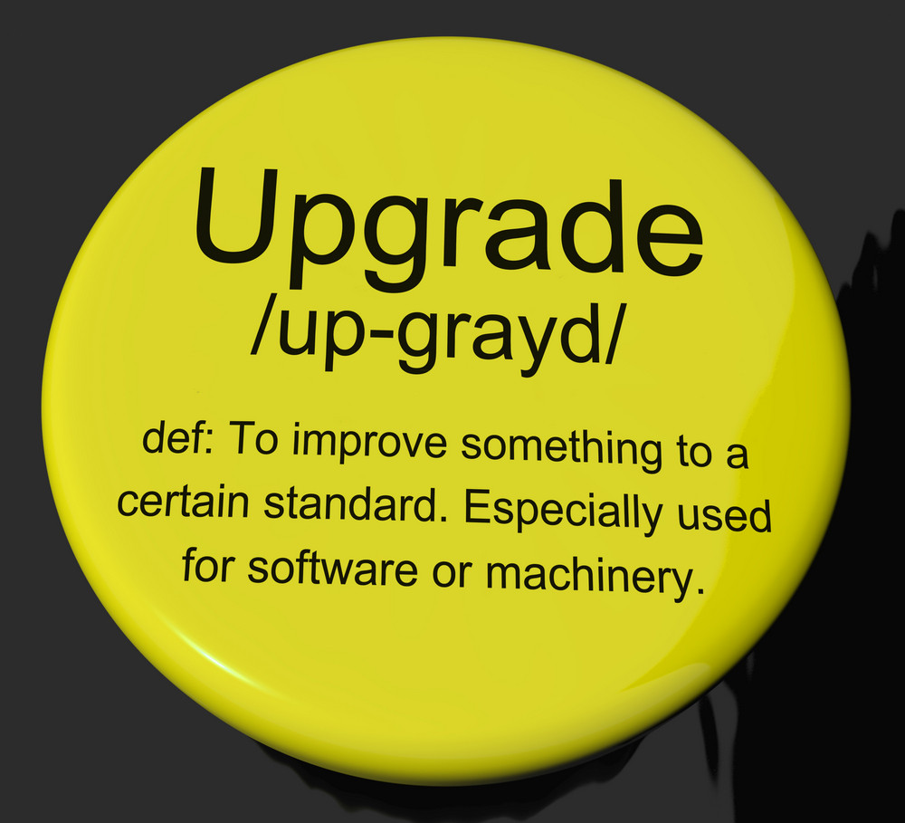 Upgrade Definition Button Showing Software Update Or Installation Fix