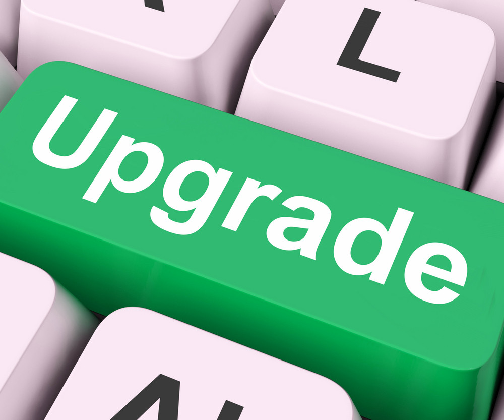 Upgrade Key Means Improve Or Update