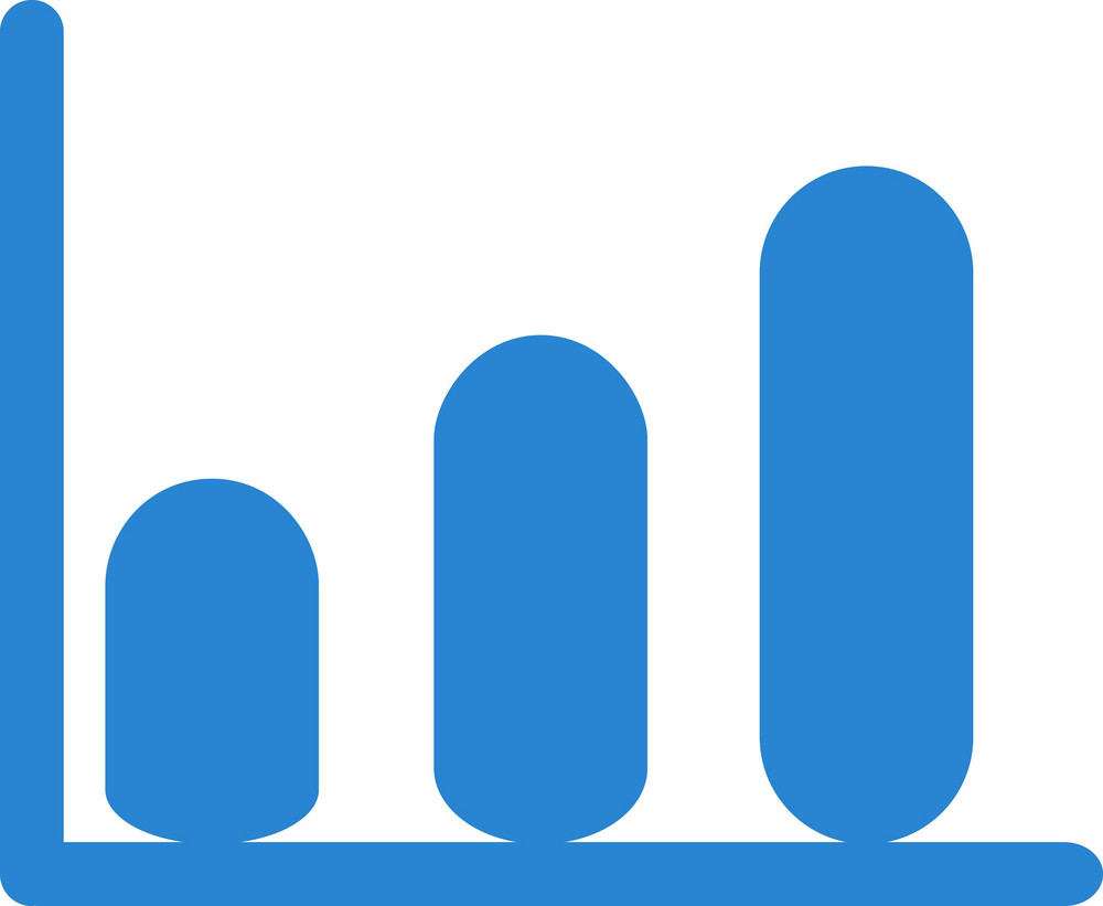 Upward Trend Simplicity Icon