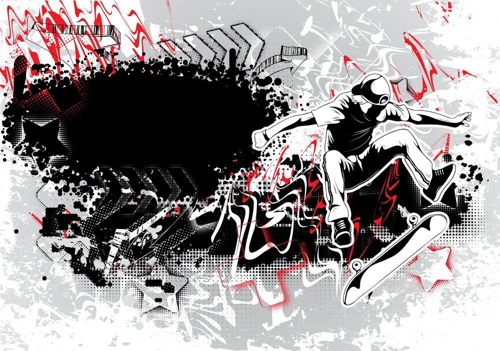 Urban Grunge Background Vector Illustration