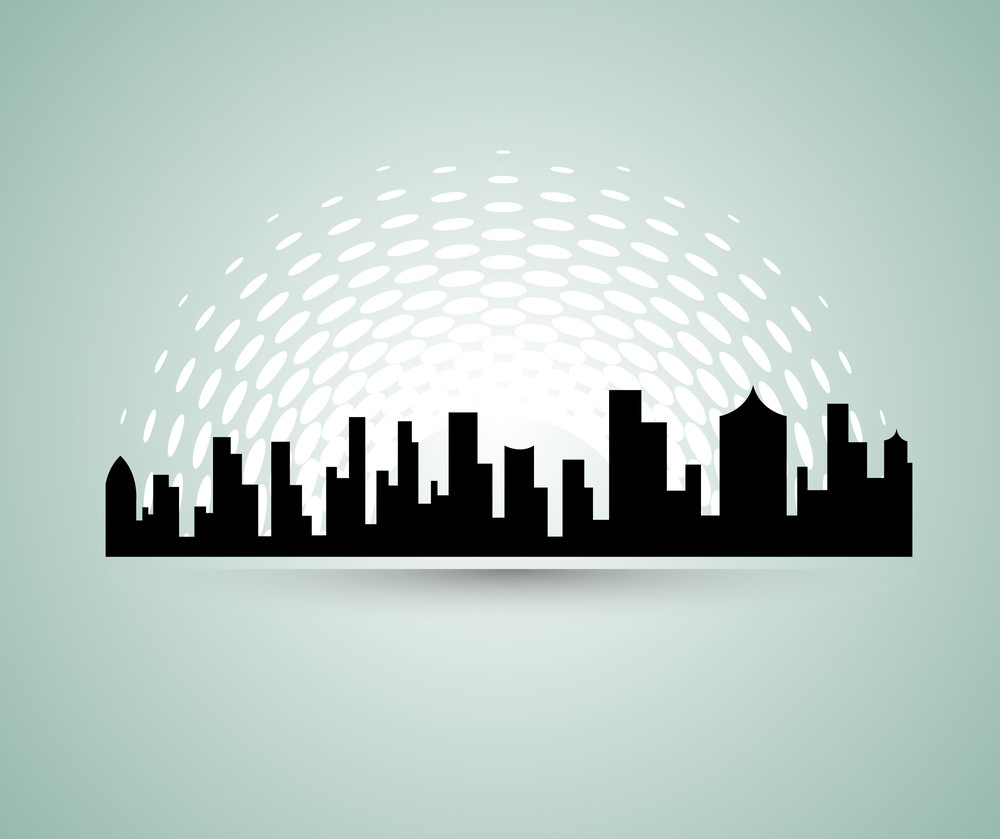 Urban Skyline Background