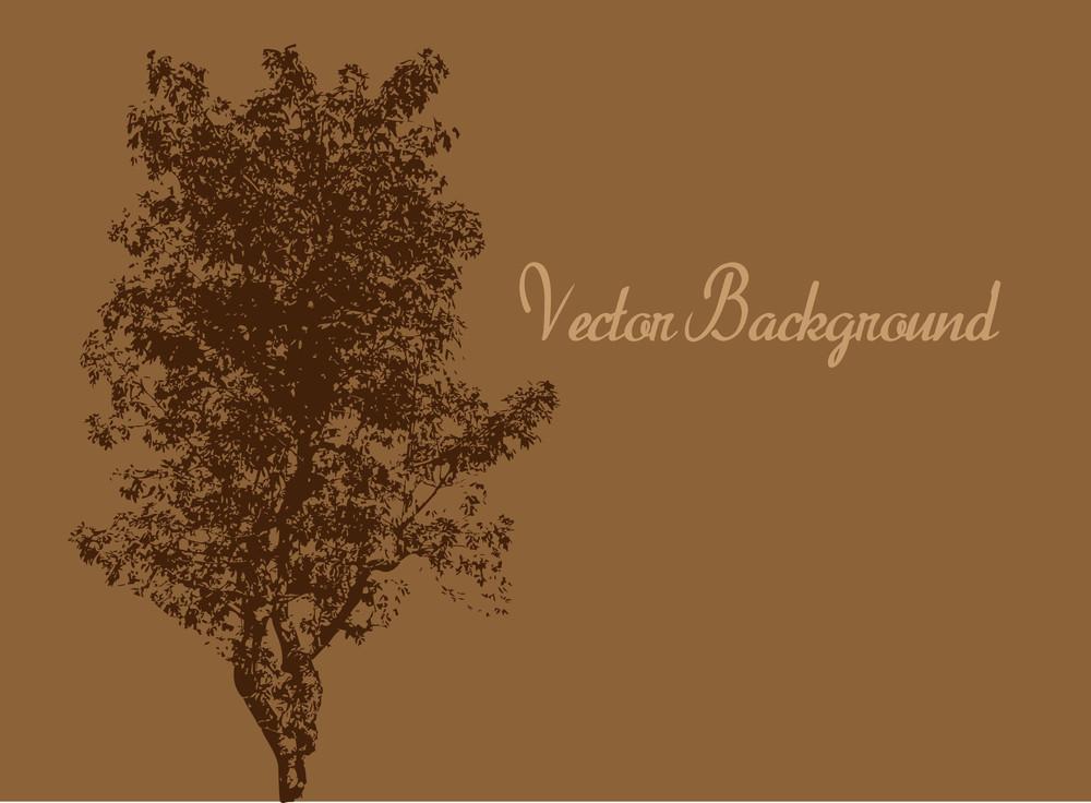 Urban Tree Vector Banner