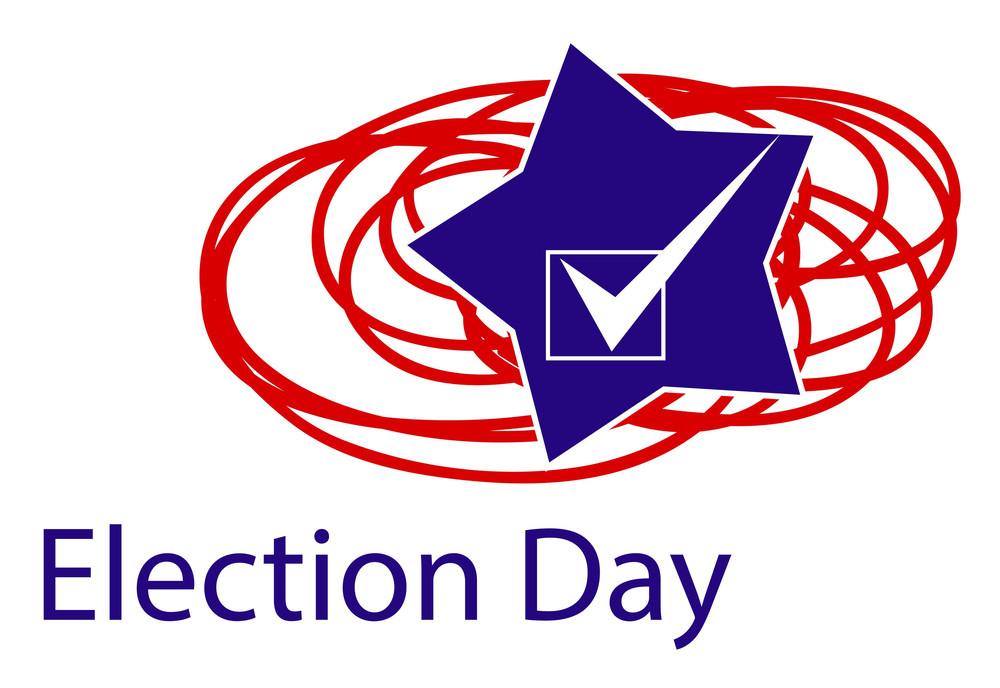 Usa Election Day Vector Illustration