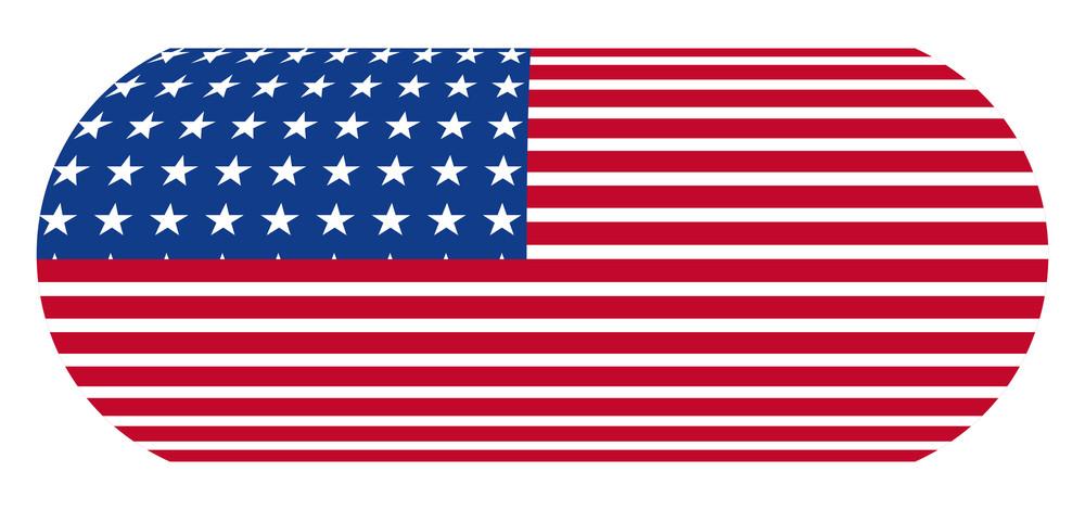 Usa Flag Banner