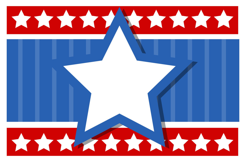 Usa Nation Theme Background For Various Patriotic Holidays