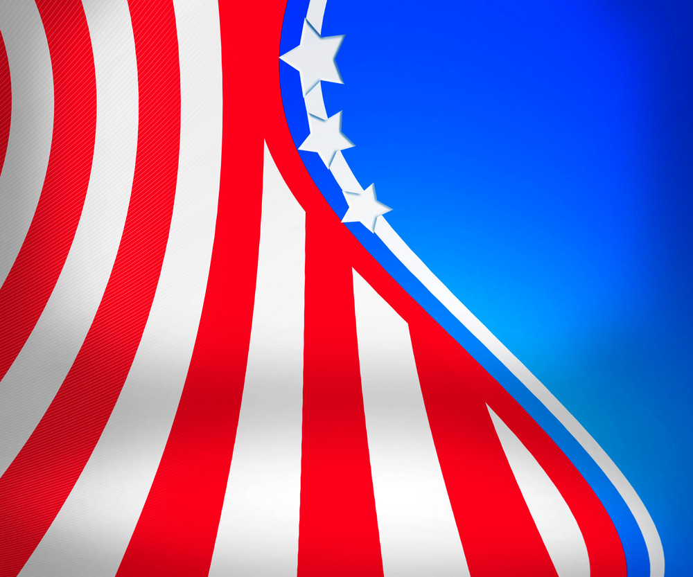 Usa Stage Background