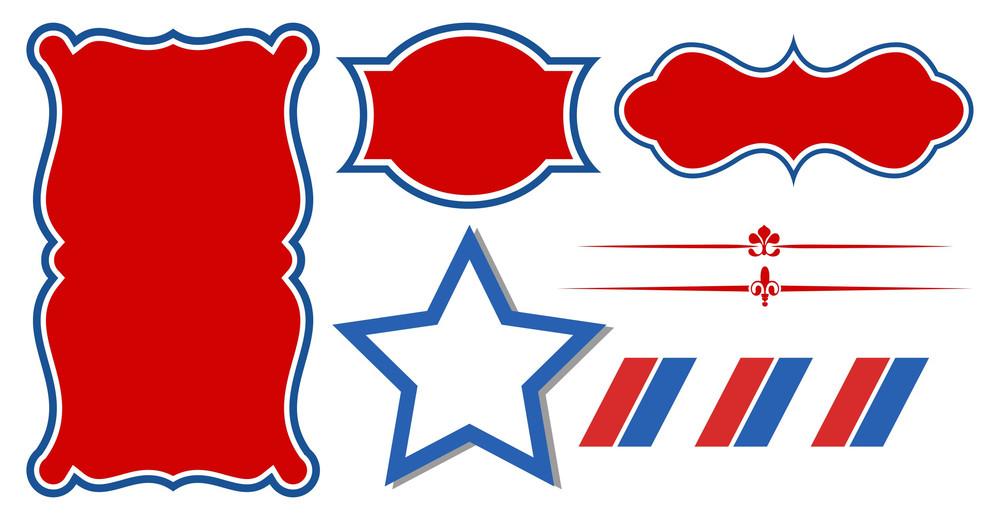 Usa Theme Tags And Banners