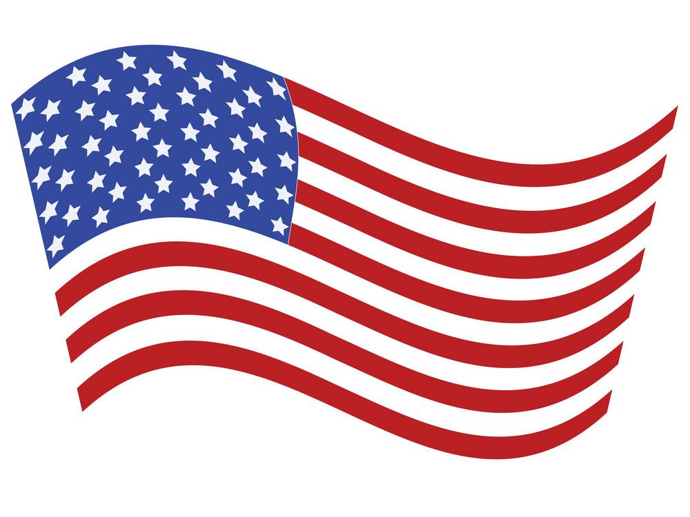 Usa Vector Flag