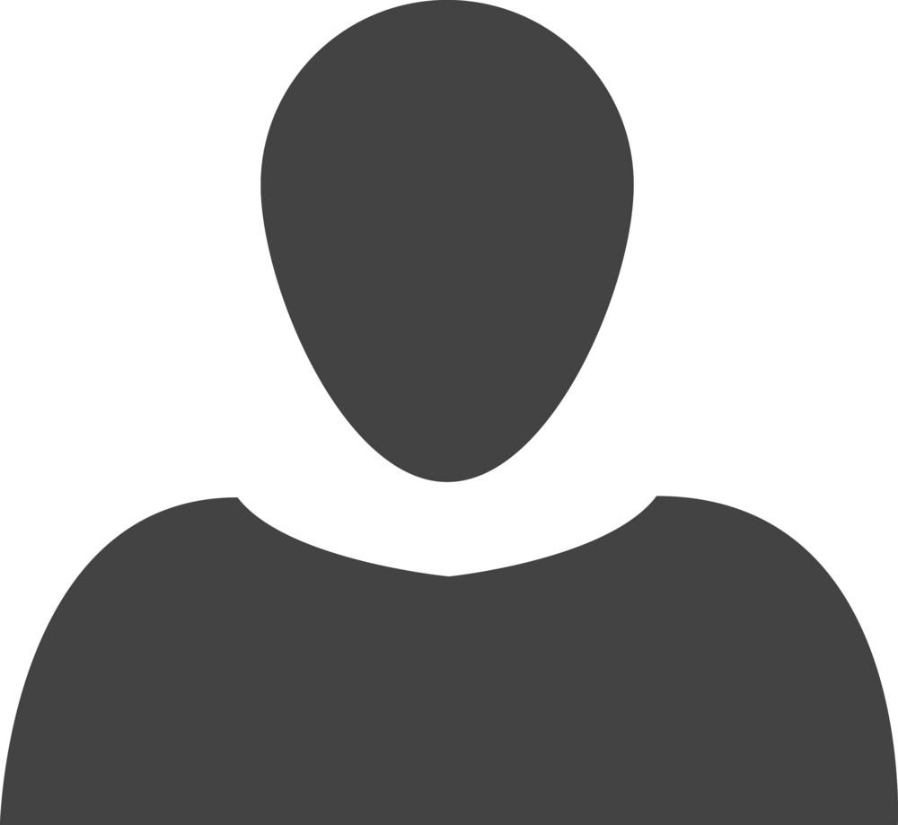 User 1 Glyph Icon