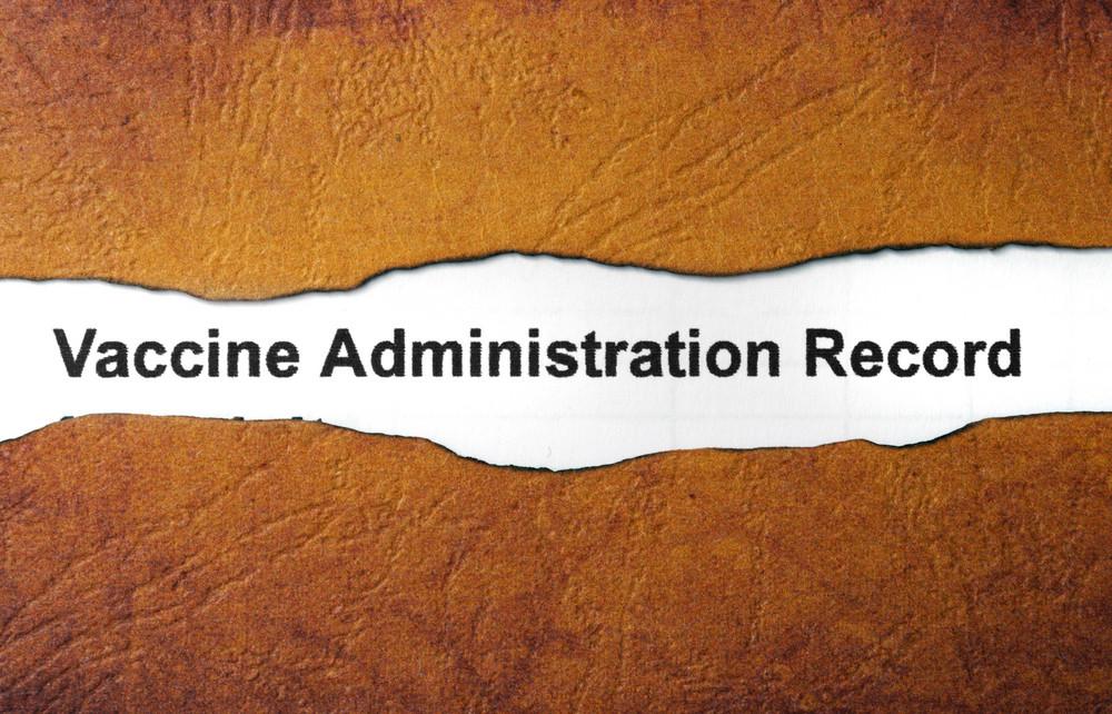 Vaccine Administration Record