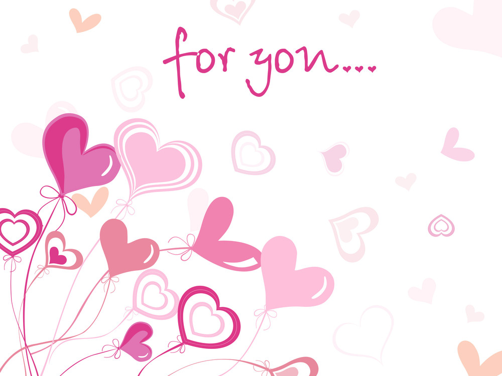 Valentine Card Only For Love