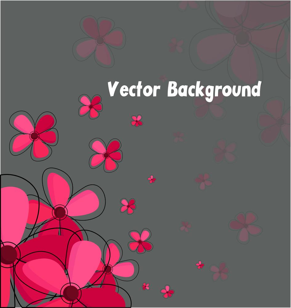 Valentine Flowers Background