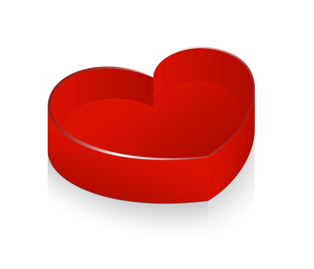 Valentine Gift Box Vector