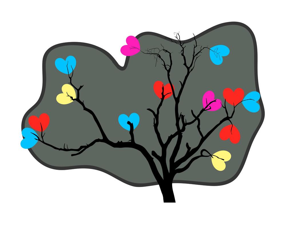 Valentine Heart Tree