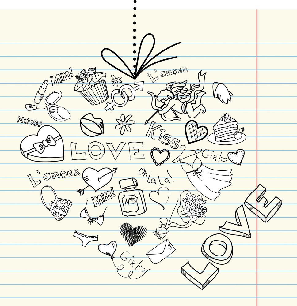 Valentine Heart . Vector