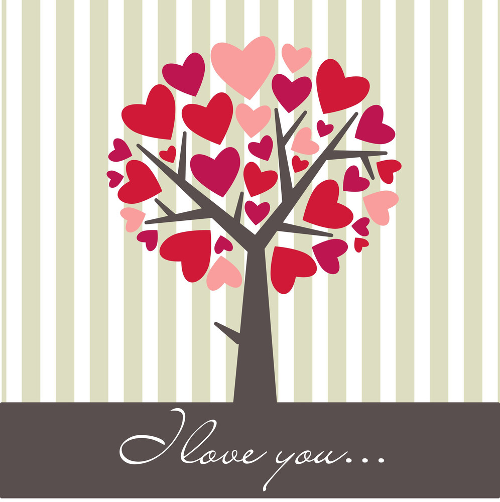 Valentine Love Tree