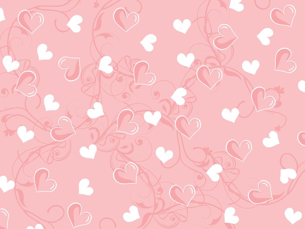 Valentine Seamless Background