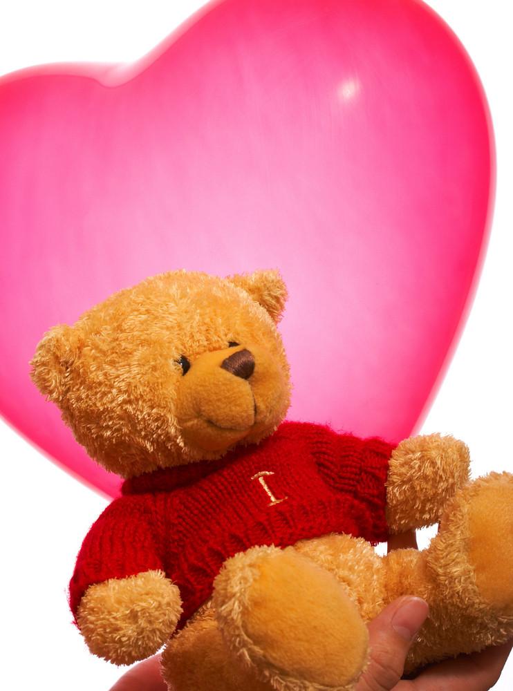 Valentine Teddy Bear Gift Or Present