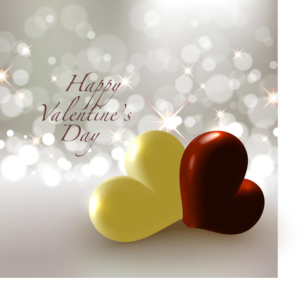Valentine's Chocolate Greeting Card