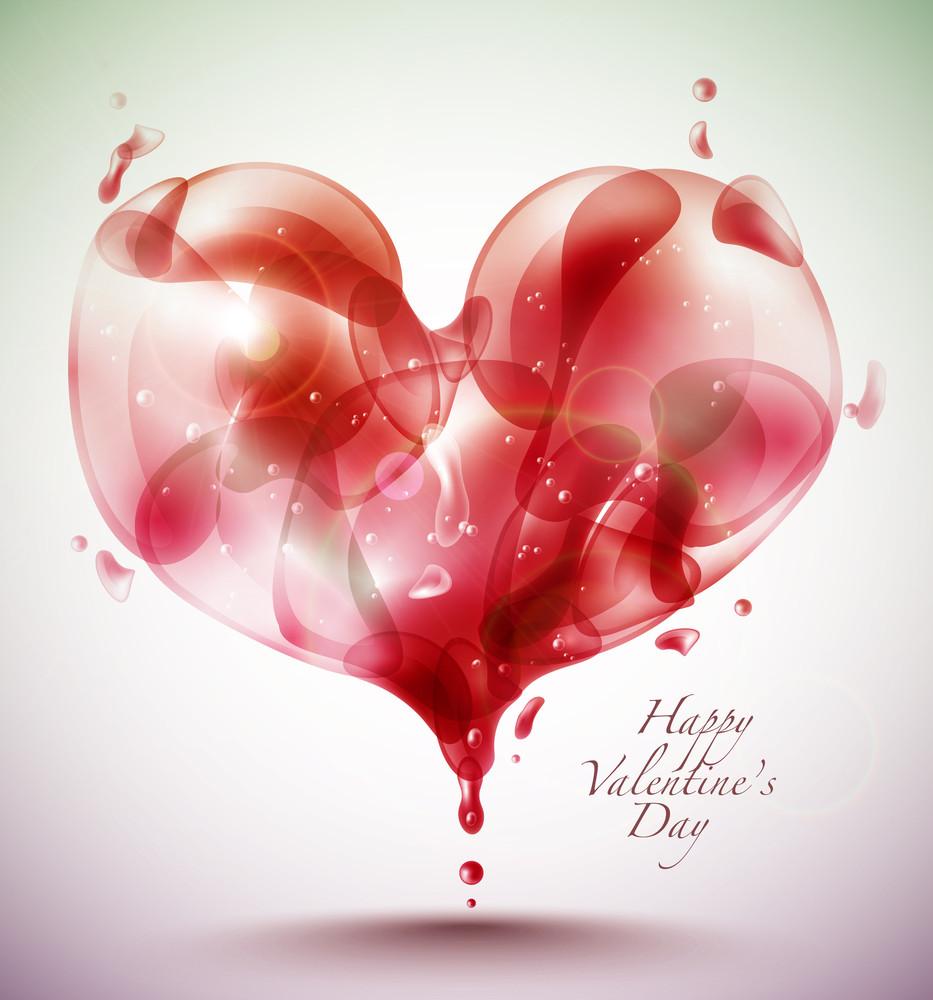 Valentine's Day Card Element