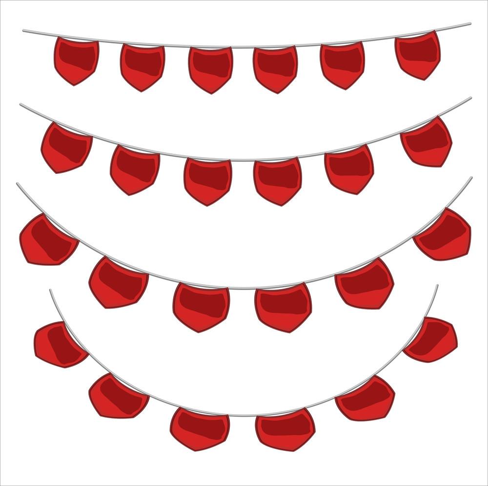 Valentine's Day Decorative Elements