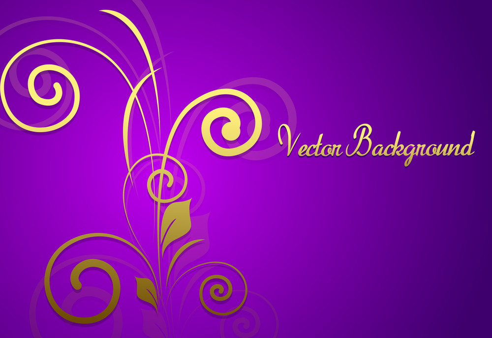 Valentine's Day Floral Greeting Vector