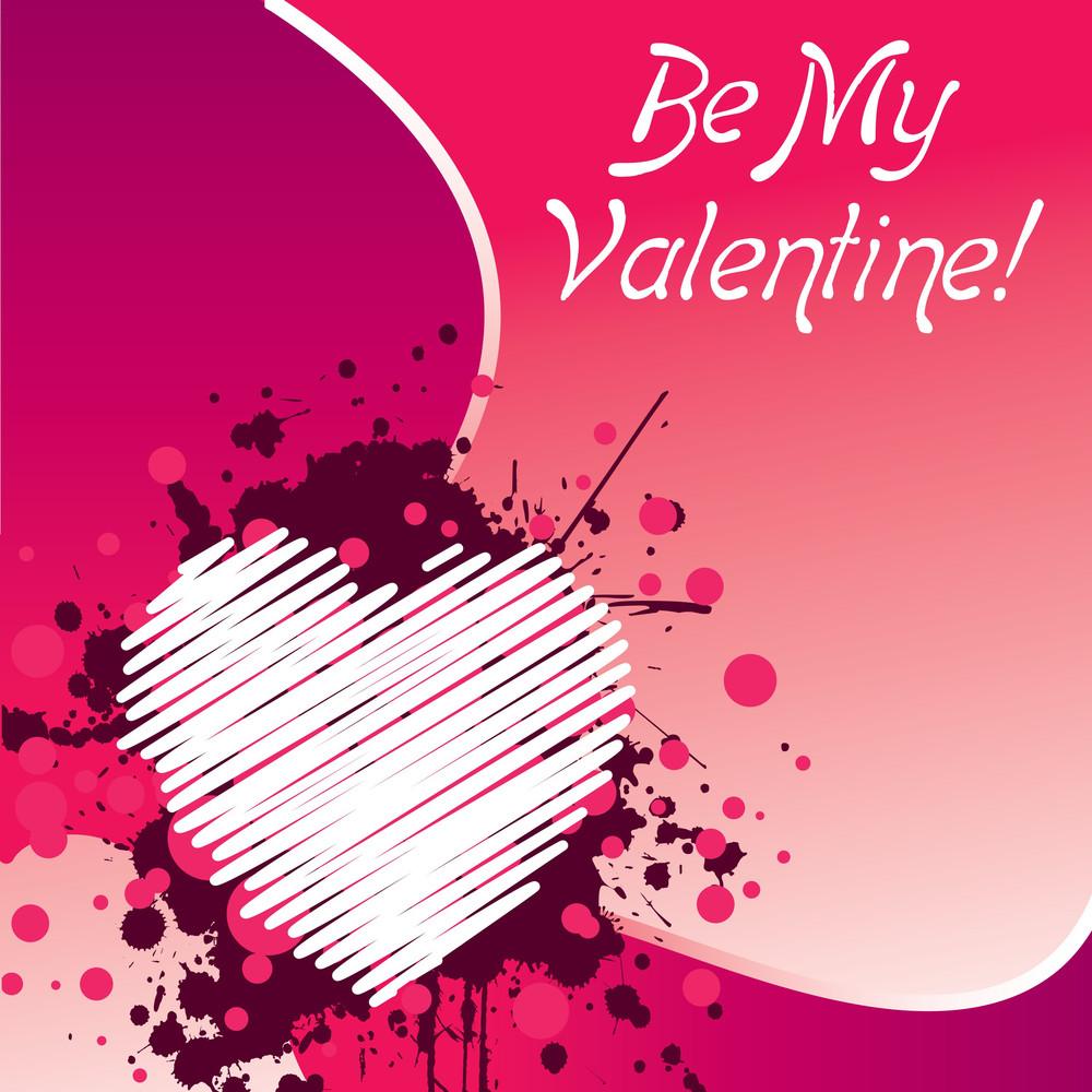 Valentine's Day Pink Design