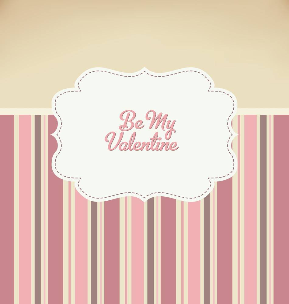 Valentines Day Retro Poster Design