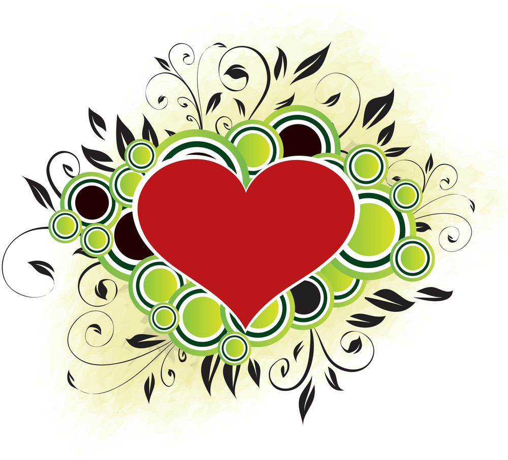 Valentine's Design - Green