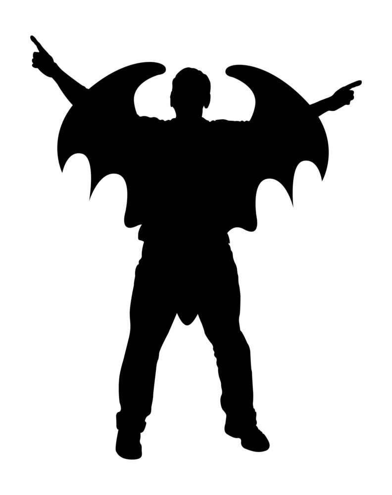 Vampire Character Silhouette