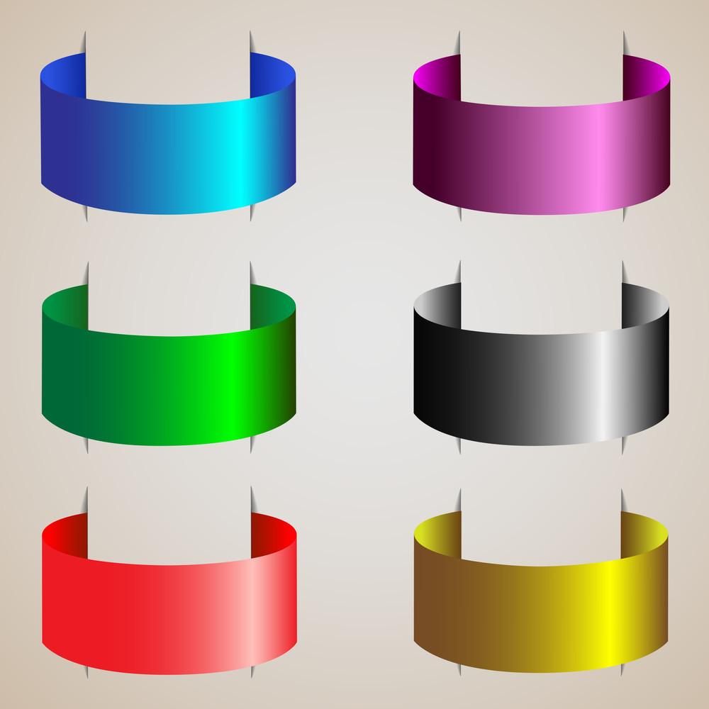 Varicolored Ribbons