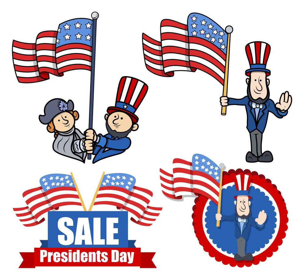 various clip art and design for presidents day royalty free stock rh storyblocks com free clipart columbus day 2017
