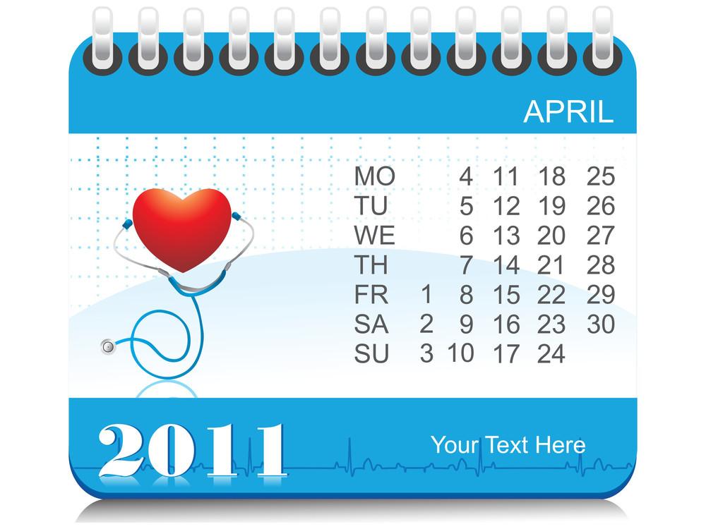 Vector 2011 Medical Calendar