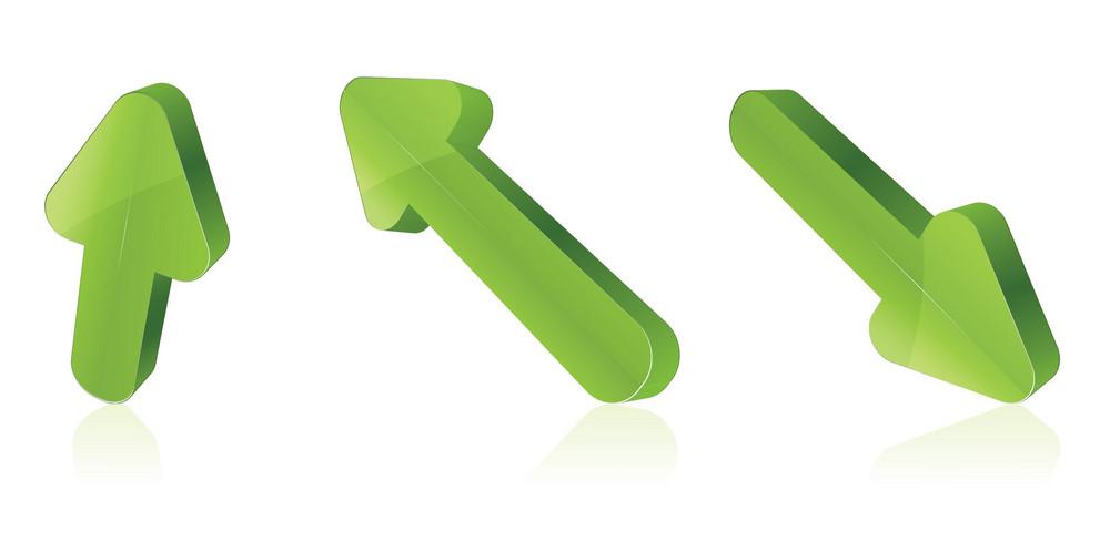 Vector 3d Arrows