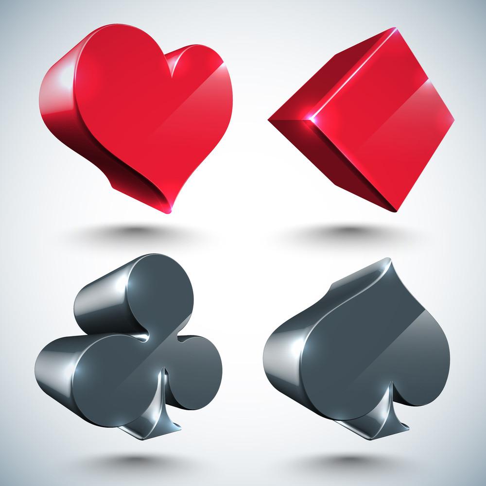 Vector 3d Pokers
