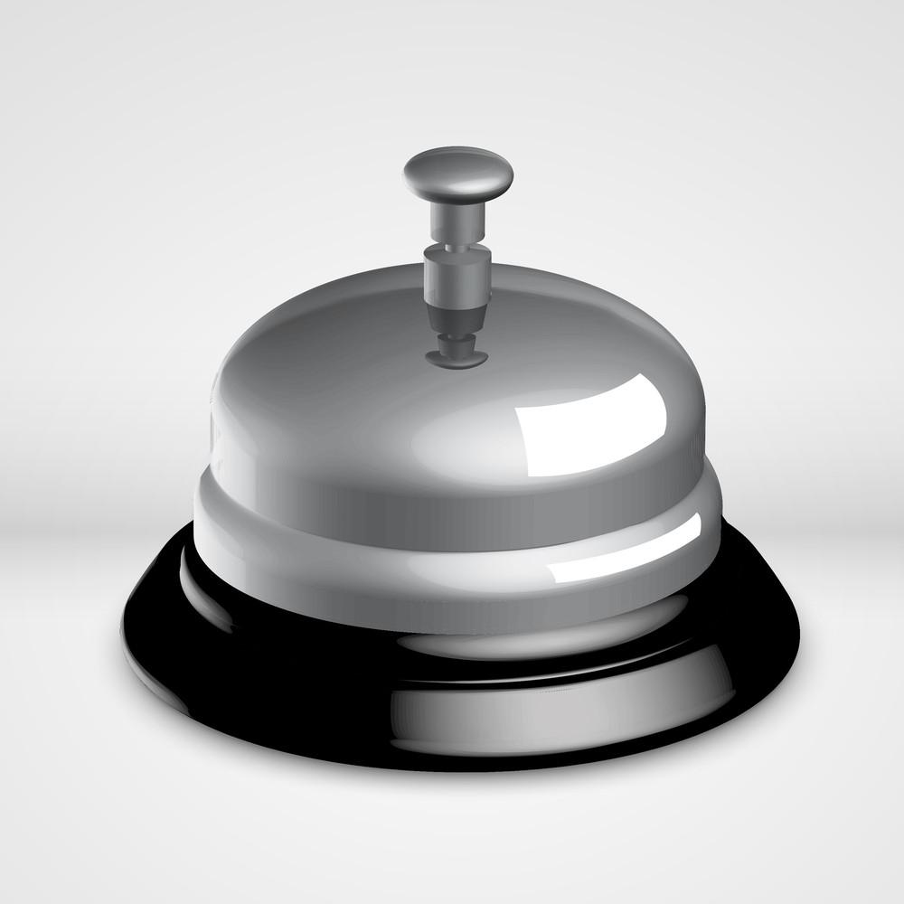 Vector 3d Service Bell