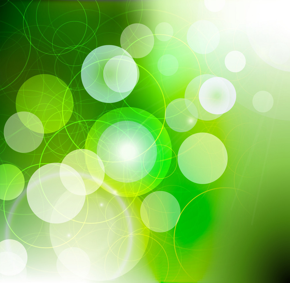 Vector Abstract Background With Circles
