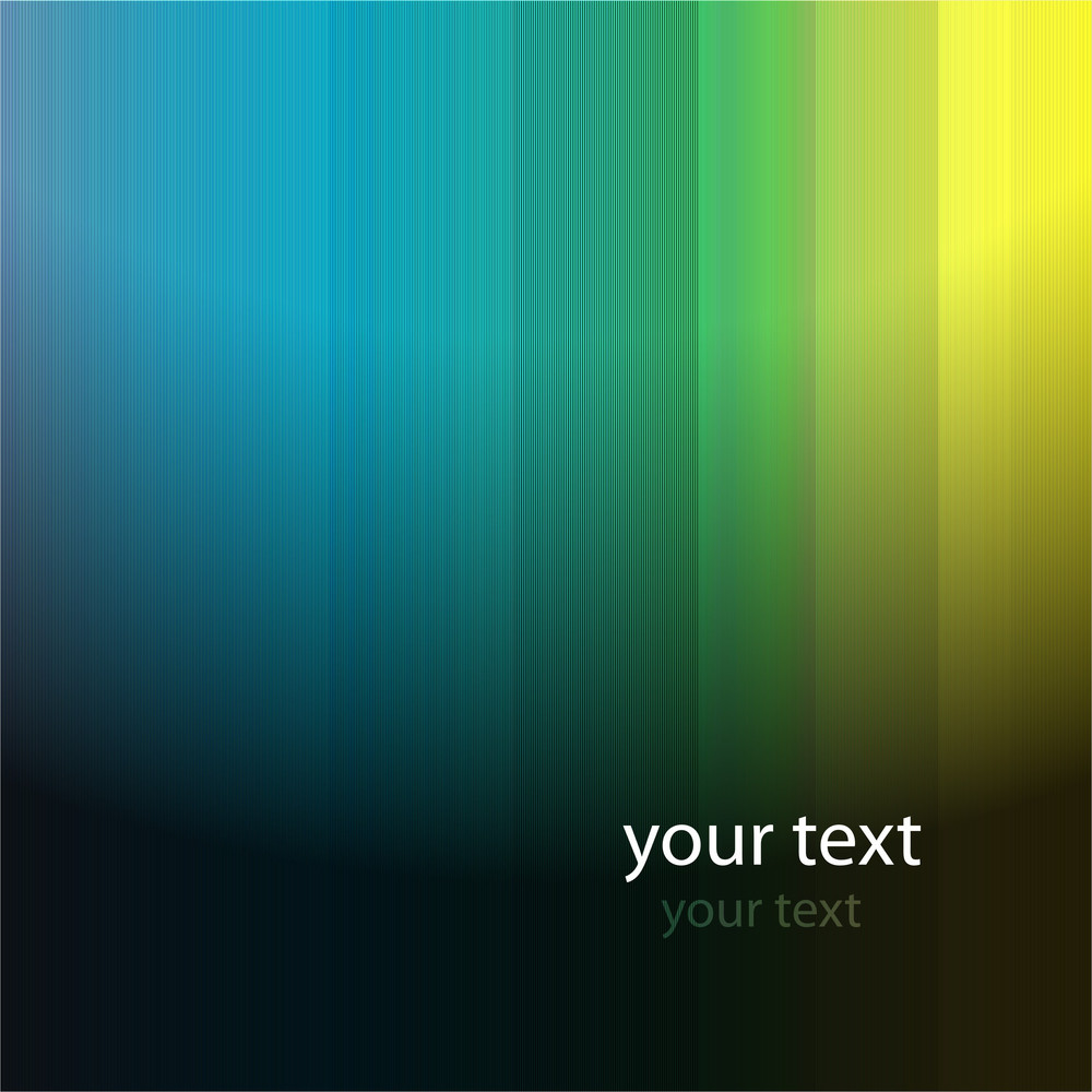 Vector Abstract Background With Space For Text