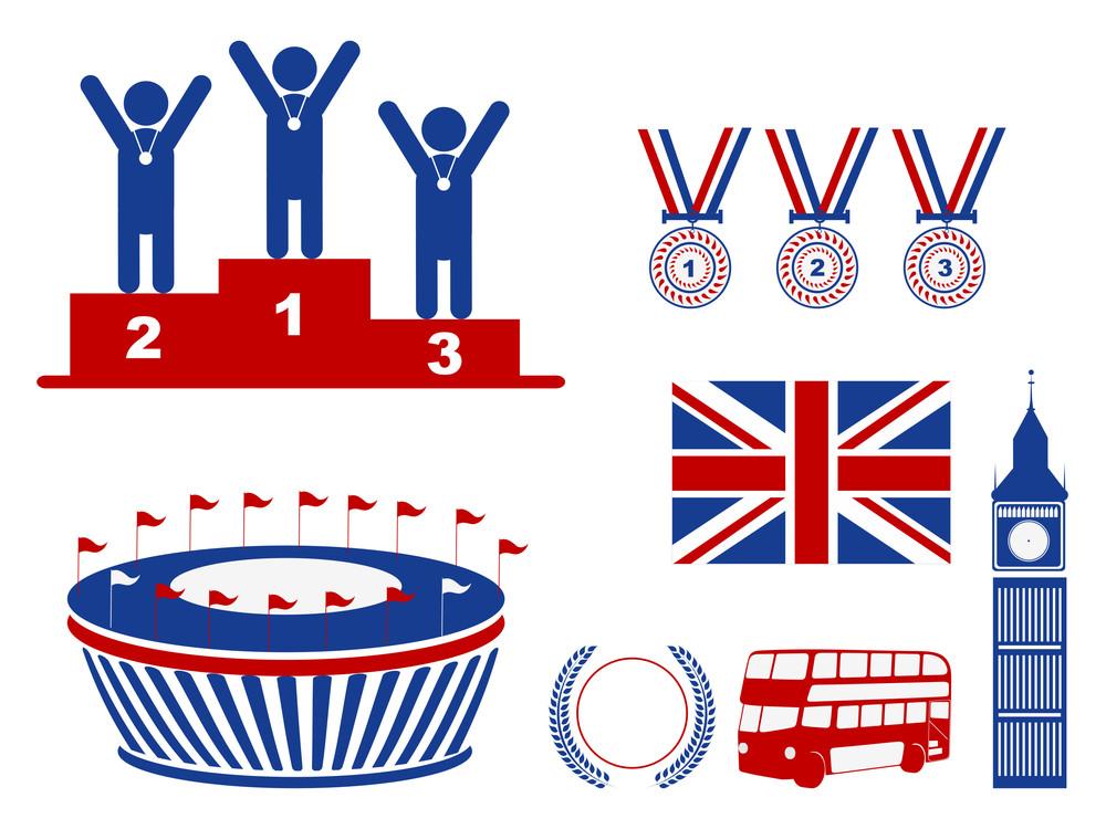 Vector American Symbolic Set