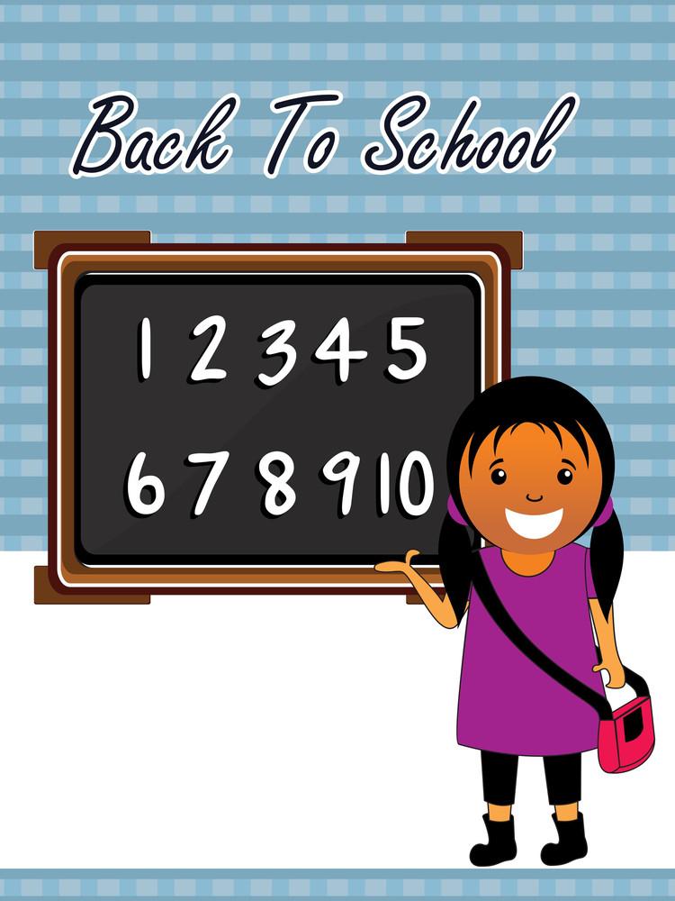 Vector Back To School Concept