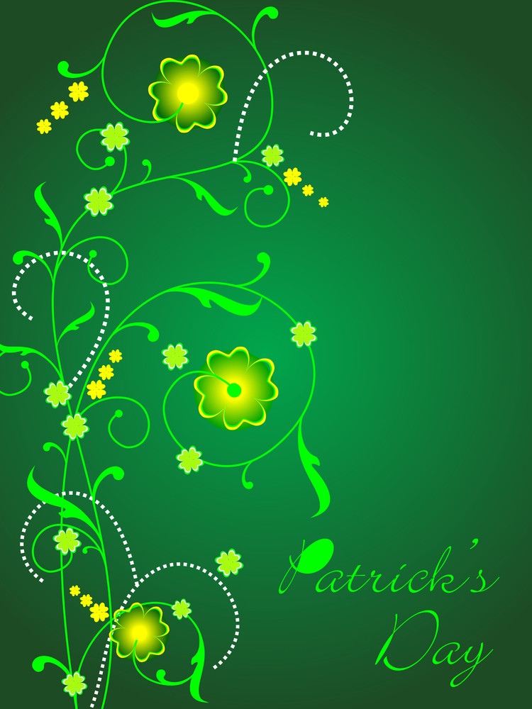 Vector Background For St. Patrick's Day.
