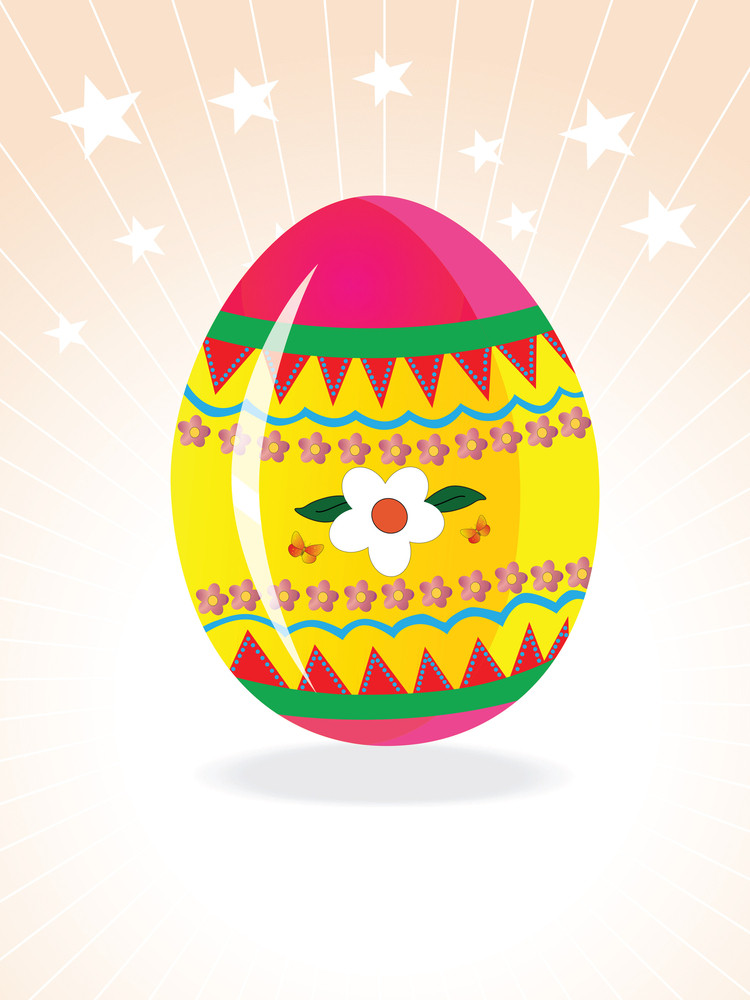 Vector Background With Creative Egg Design5