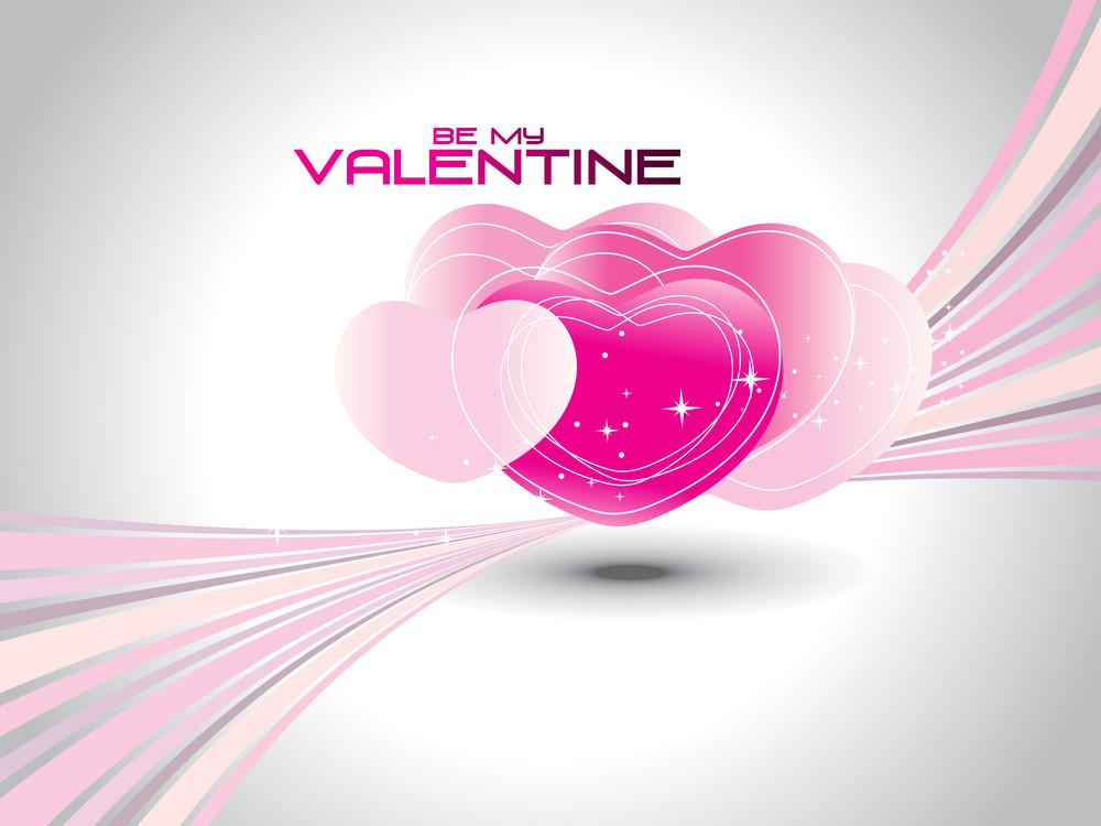 Vector Be My Valentine