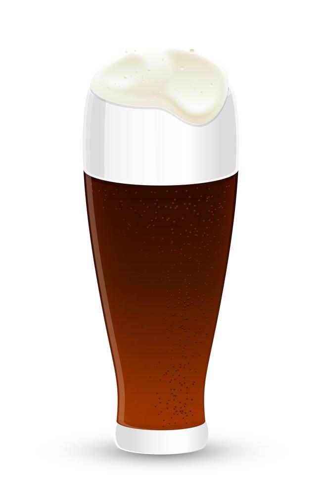 Vector Beer Glass Design
