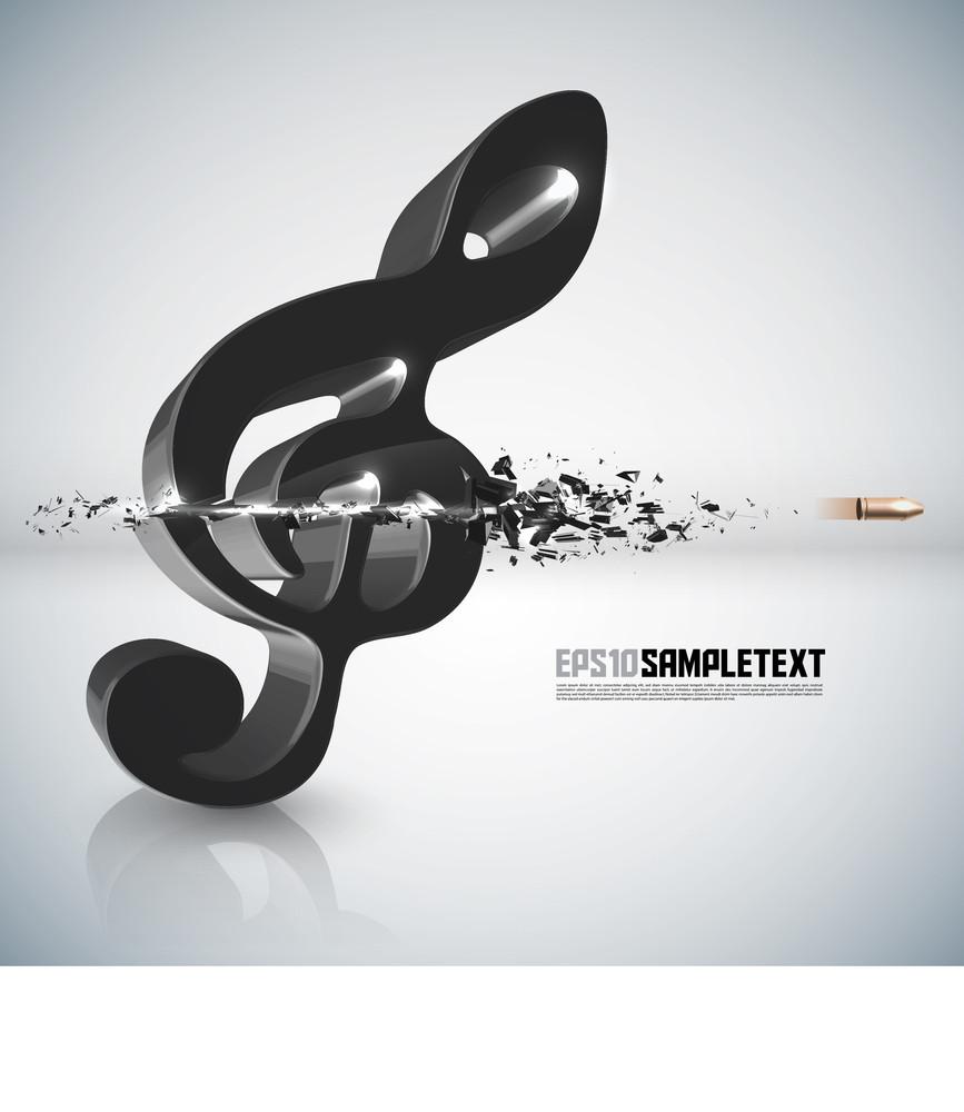Vector Bullet Sends A Shot Through Melody Sign