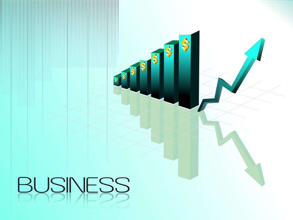 Vector Business Growth Concept