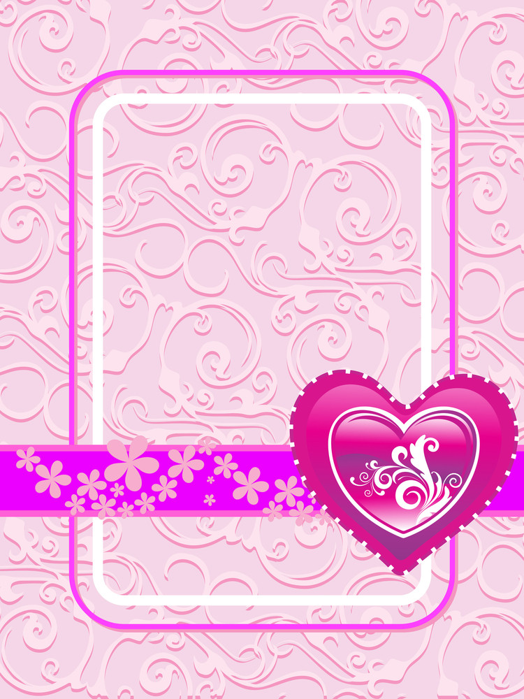 Vector Card For Valentine Day