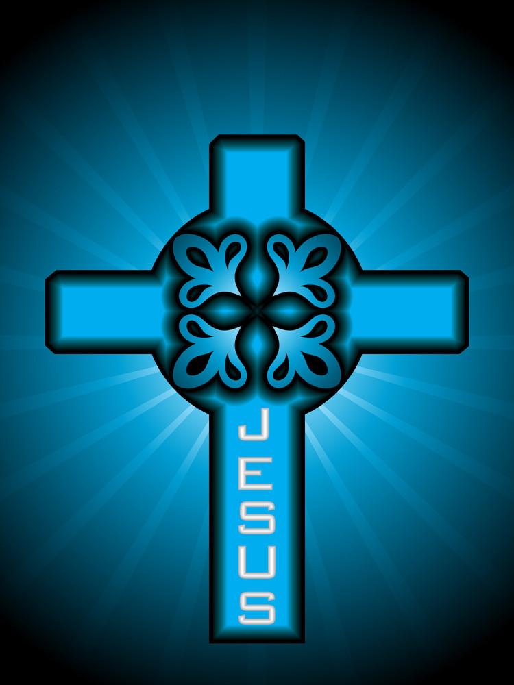 Vector Celtic Cross Illustration
