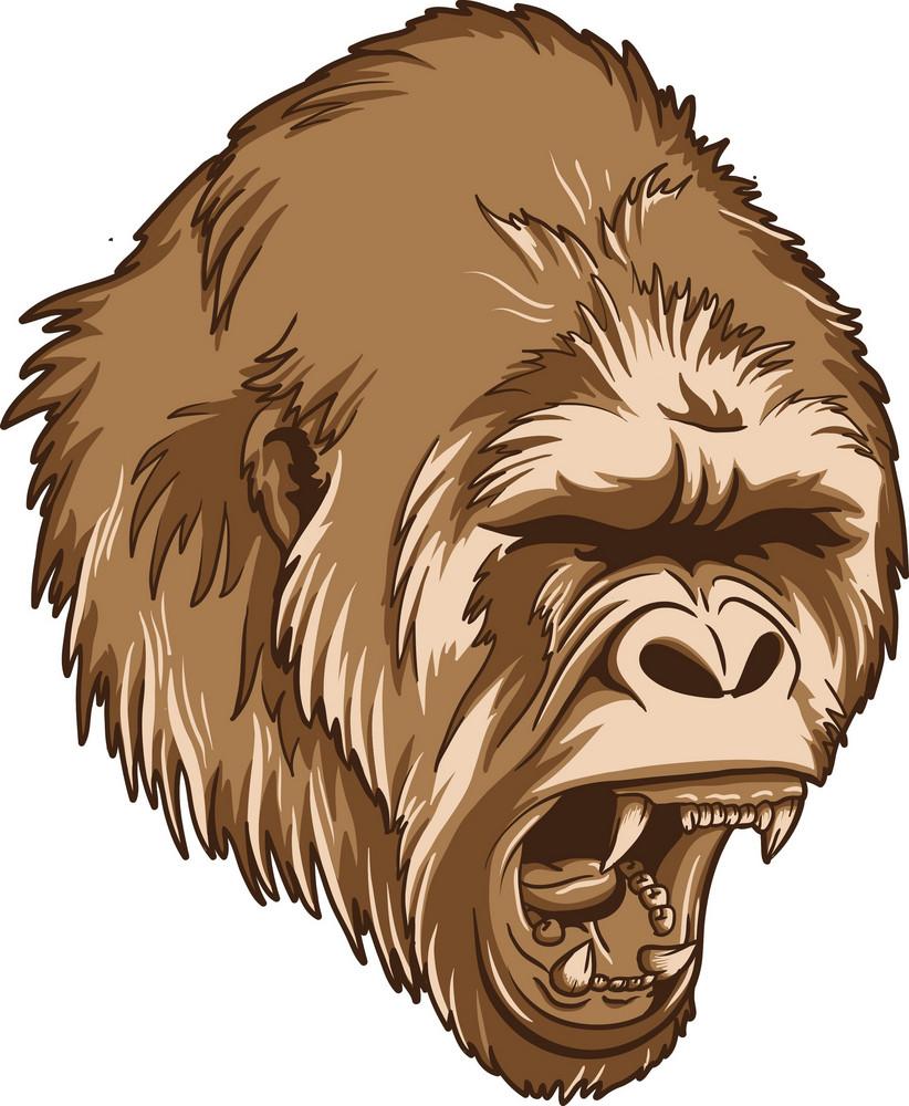 Vector Chimpanzee