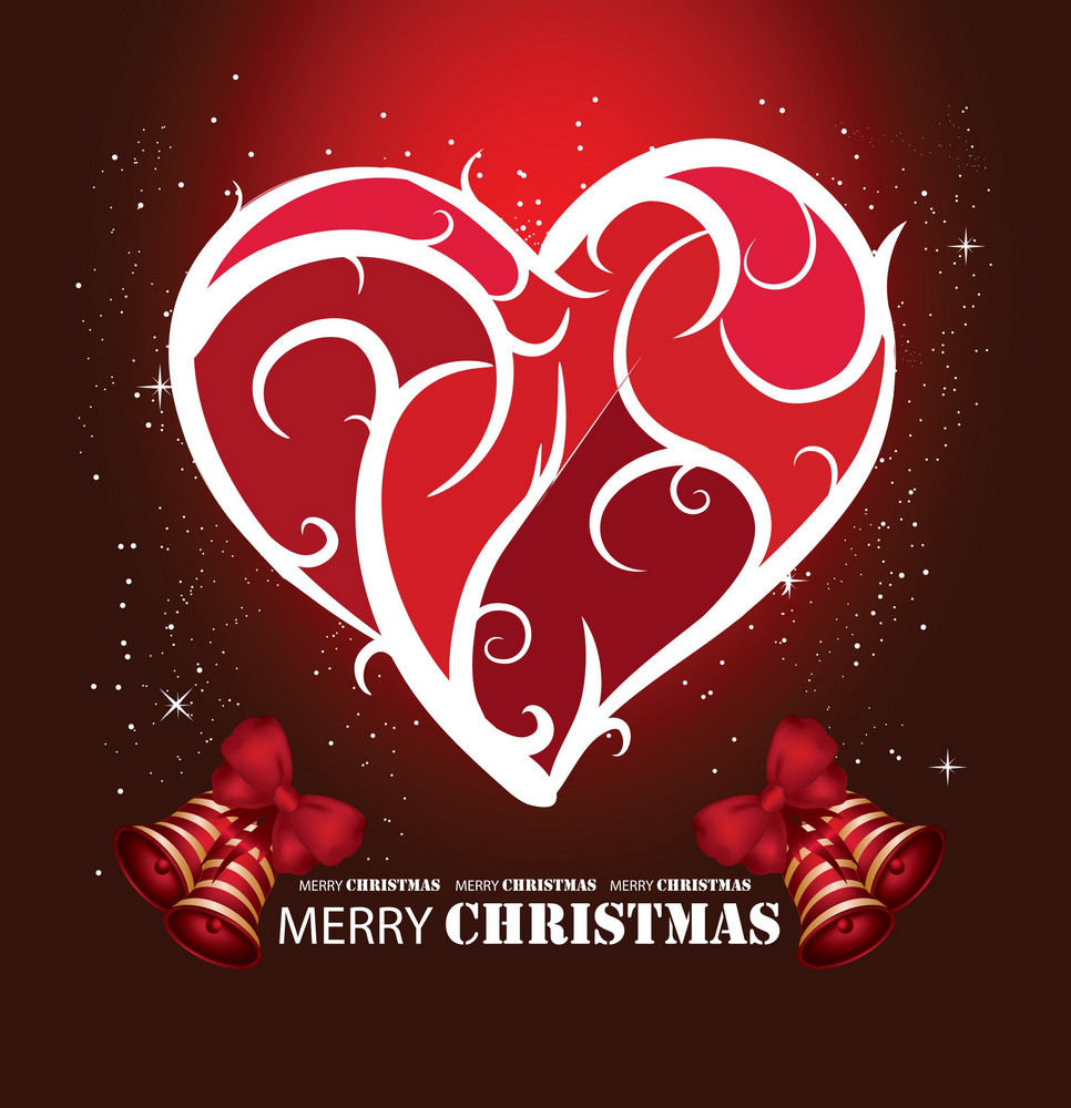 Vector Christmass Greetign  Card Template